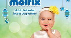 Molfix'le mutlu bebekler mutlu bayramlar...