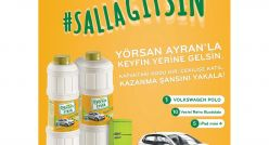 Yörsan Ayran yeni kampanyasında #SallaGitsin diyor