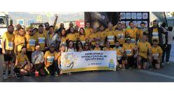 Otizmli çocukların eğitimi için Runatolia Maratonu'nda koştular