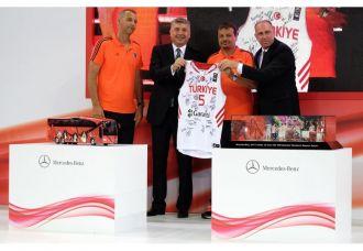 Mercedes-Benz Türk, Türkiye Basketbol Federasyonu'na yeniden sponsor