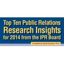 Top Ten Public Relations Research Insights of 2014 from the IPR Board of Trustees