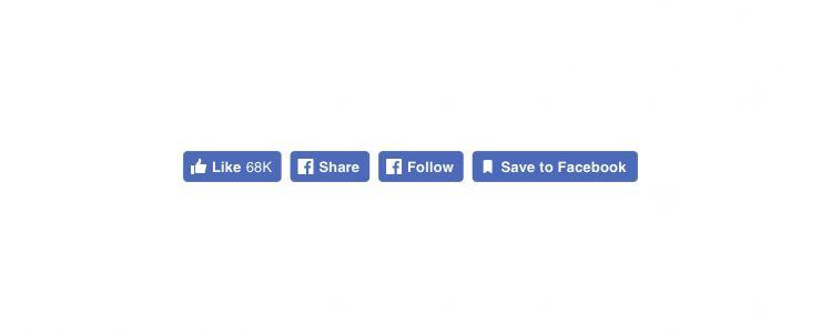 Facebook, platform dışındaki sosyal butonlarını güncelledi