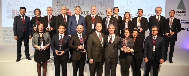 VII. Kurumsal Yönetim Ödülleri Sahiplerini Buldu