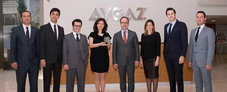 Aygaz'a Altın Mixx Ödülü
