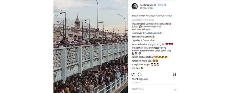 İstanbul, Instagram'da en çok paylaşılan ilk 10 şehir arasında
