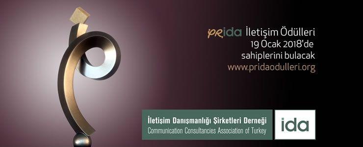 Prida İletişim Ödülleri'ne yoğun ilgi