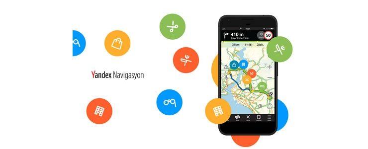Yandex Navigasyon ve Foursquare iş birliği