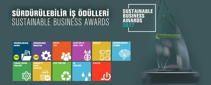 'Sürdürülebilir İş Ödülleri' için  son başvuru tarihi 15 Ağustos