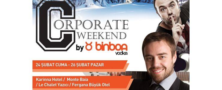 """""""Corporate Weekend'12"""" başlıyor"""