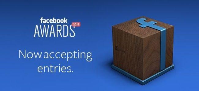 Facebook Awards başvuruları 8 Ocak'ta başlıyor