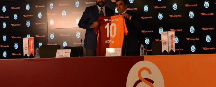 Galatasaray'ın forma sırt sponsoru Garenta oldu