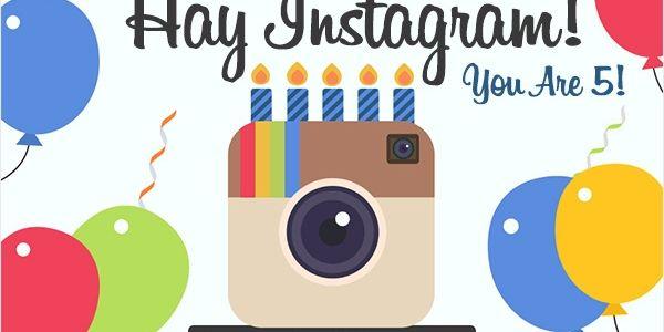 Instagram, beşinci yaşını Türkiye'de kutladı