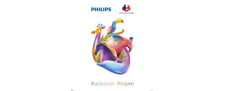 """Philips'ten yeni farkındalık projesi """"Kalbinin Resmi"""""""