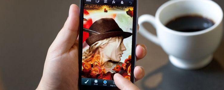 Photoshop'un gücü mobil telefonlarda