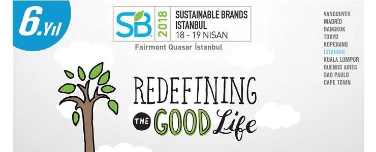 Değişimin liderleri Sustainable Brands 2018'de buluşuyor