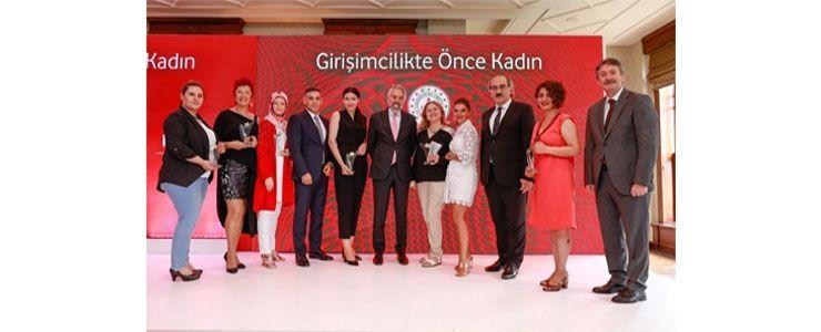 Vodafone girişimci kadınların hayallerine destek oldu