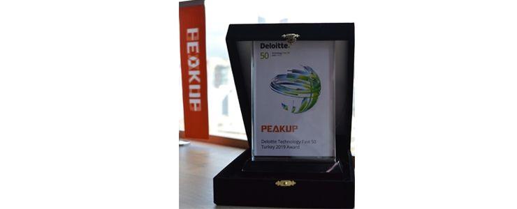 PEAKUP üçüncü defa Teknoloji Fast 50'de yer aldı