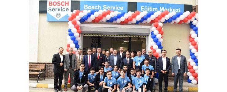 Bosch'tan geleceğin teknisyenlerine yatırım