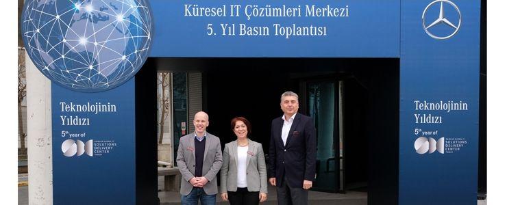 Mercedes-Benz Türk Küresel IT Çözümler Merkezi 5. yılını kutluyor