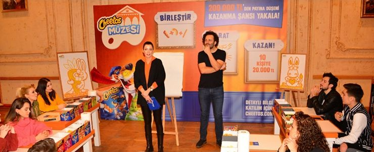 Erdil Yaşaroğlu'nun ikonik karakterleri Cheetos Müzesi'nde hayat buldu