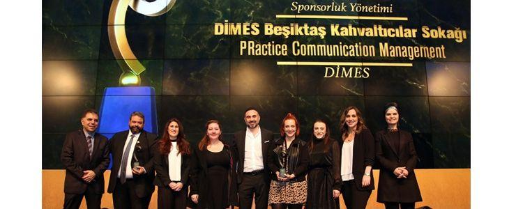 DİMES Beşiktaş Kahvaltıcılar Sokağı projesi ödüle doymuyor