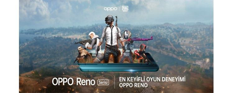 """""""OPPO Reno Z"""" ile kesintisiz ve sürükleyici PUBG deneyimi"""