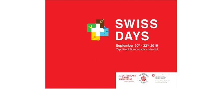Swiss Days 2019 ilk kez 20-22 Eylül'de İstanbul'da
