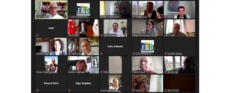 Tunç Soyer EGD üyelerine yerel kalkınmayı anlattı