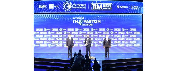 """PEAKUP """"İnovasyon Stratejisi"""" ödülünün sahibi oldu"""