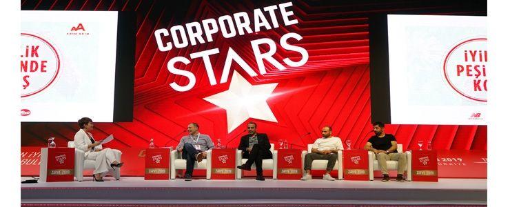 İş Dünyası'nın yıldızları Corporate Stars Zirve 2019'da buluştu