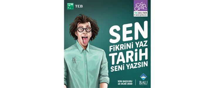 TEB Akıl Fikir Yarışması'nın başvuruları devam ediyor