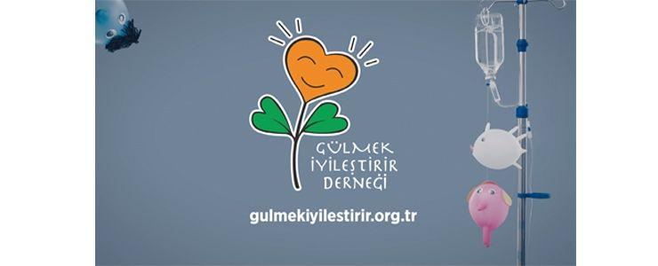 Gülmek İyileştirir Derneği'nin ilk kampanya filmi yayında