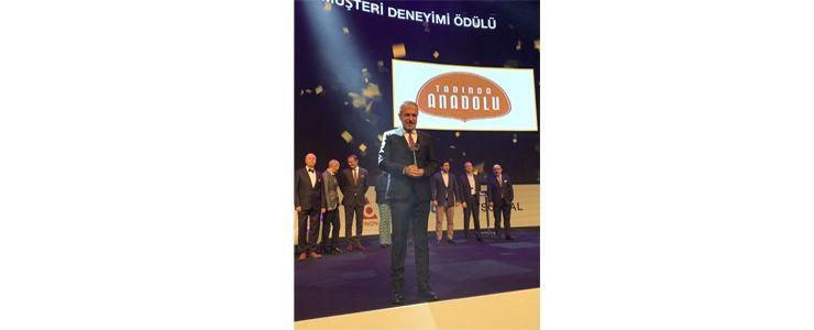En başarılı müşteri deneyimi ödülü Tadında Anadolu'ya