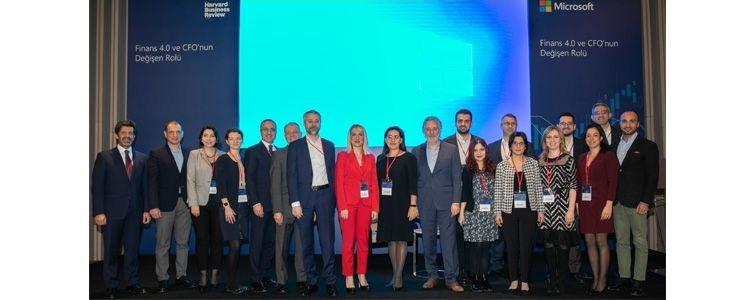 Teknoloji ve finans dünyası  Microsoft CFO etkinliğinde buluştu
