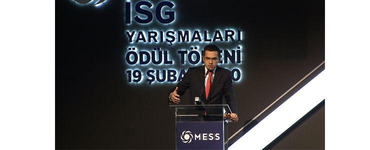 MESS İSG Ödülleri sahiplerini buldu