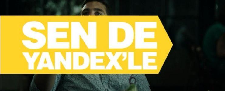 Yeni kampanyayı Yandex'le!