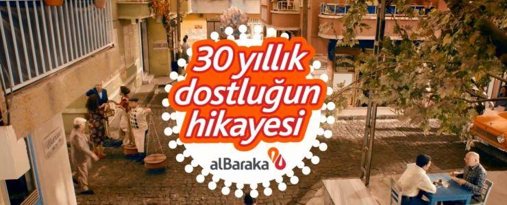 Albaraka'nın yeni reklam filminde seksenler havası