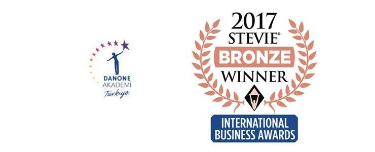 Stevie 2017 Uluslararası İş Dünyası Ödülleri'nden Danone Akademi Türkiye'ye Ödül!