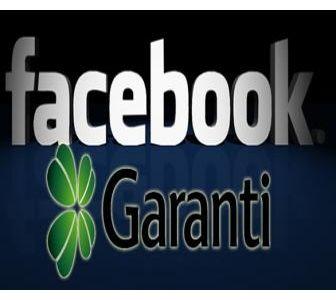Garanti Bankası'ndan Facebook kullanıcılarına özel kampanya!