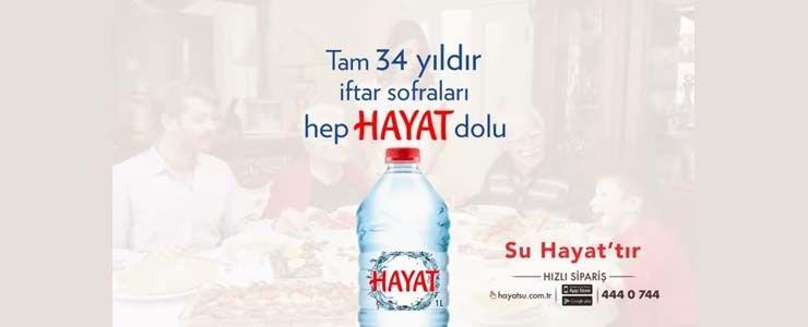 Hayat Su Ramazan Ayına Özel Hazırladığı Reklam Filmiyle Ekranlarda