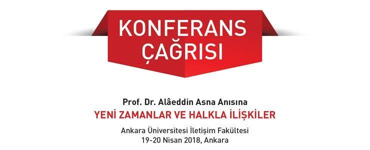 Prof. Dr. Alâeddin Asna'nın Anısına Düzenlenen Konferans Dizisinin İkincisi Başlıyor!