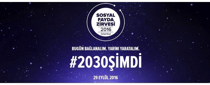 Sosyal Fayda Zirvesi İstanbul 29 Eylül'de